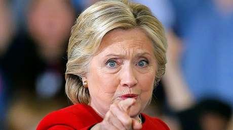 La ex candidata demócrata a la Presidencia de EE.UU. Hillary Clinton