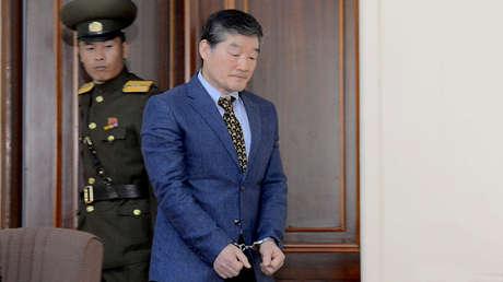 Kim Dong Chul, uno de los cuatro estadounidenses detenidos por las autoridades norcoreanas