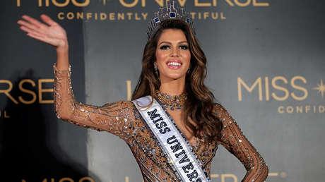 La actual Miss Universo Iris Mittenaere