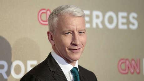 Anderson Cooper, presentador de la cadena CNN.
