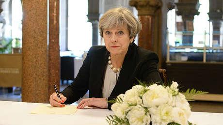Theresa May, la primera ministra de Reino Unido.