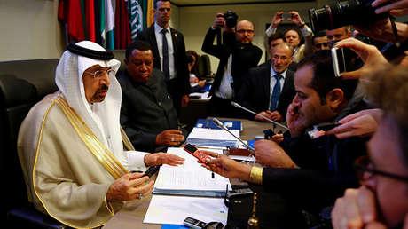 Khalid al Falih, ministro de Energía de Arabia Saudita