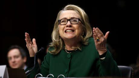 Hillary Clinton en el Senado estadounidense, 23 de enero del 2013.