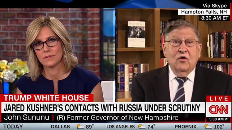Un exjefe de la Casa Blanca arremete contra la CNN por su cobertura sobre la relación Trump-Rusia