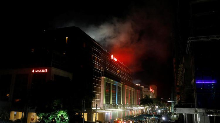 Todo sobre el ataque armado a un centro turístico de la capital de Filipinas
