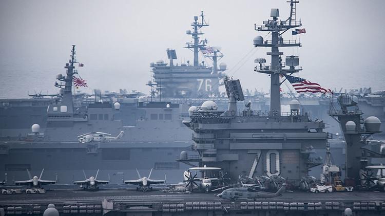 EE.UU. y Japón exhiben músculo en medio de la tensión en la península de Corea