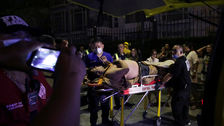 Encuentran 36 cadáveres dentro del hotel de Filipinas que fue atacado por un hombre armado