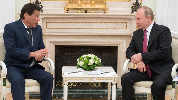 El complejo juego geopolítico que Duterte propone a Rusia