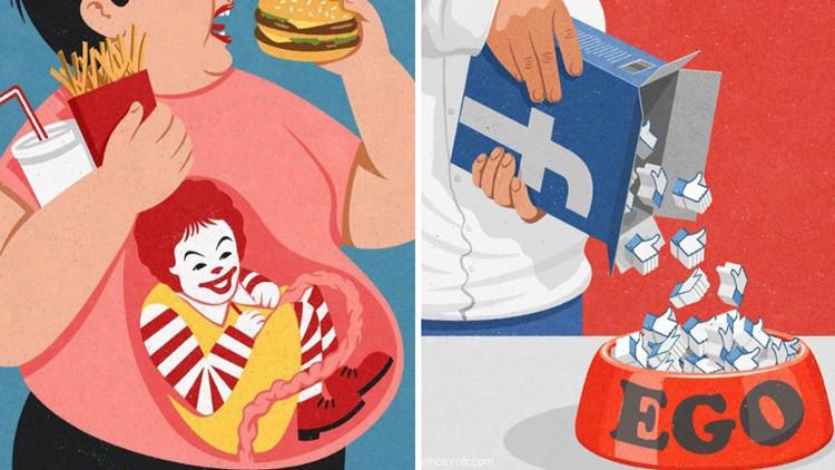 Es posible que estas ilustraciones le hagan reconsiderar su propia vida