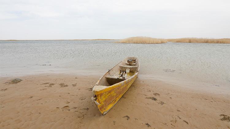¿A punto de desaparecer?: Así resurge uno de los lagos más grandes del mundo (FOTOS)