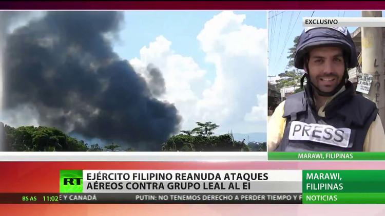 Filipinas: RT informa en exclusiva desde la operación antiterrorista en Marawi