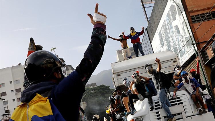 """Rusia: """"La oposición venezolana provoca los disturbios de forma intencionada infringiendo la ley"""""""
