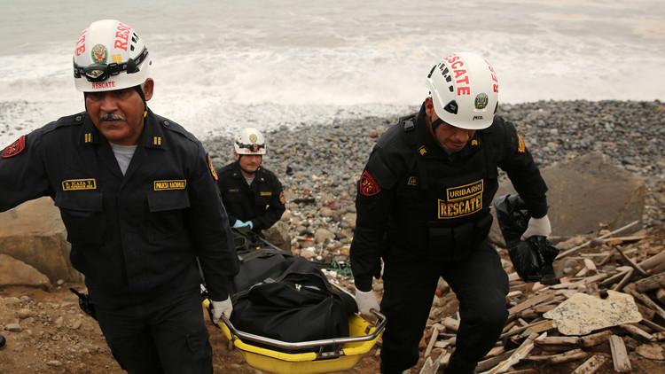 VIDEO: Impactantes imágenes del momento en que cuatro militares mueren ahogados en Perú