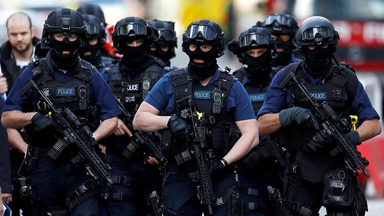 VIDEO: La Policía lleva a cabo operación especial en el este de Londres