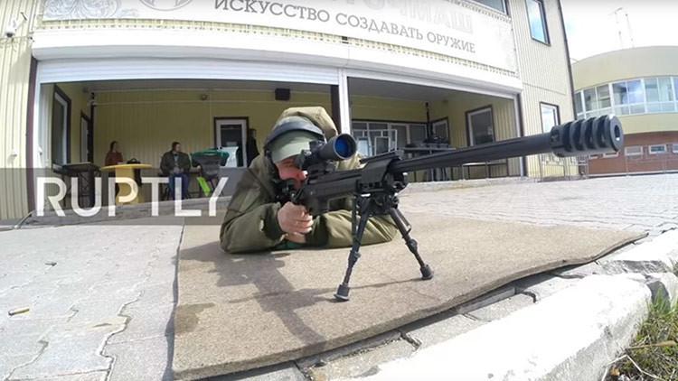 Rusia prueba el rifle de francotirador T-5000 de nueva generación (Video)