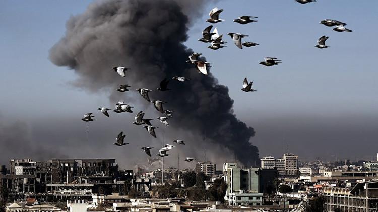 La coalición liderada por EE.UU. vuelve a atacar a las tropas leales a Assad
