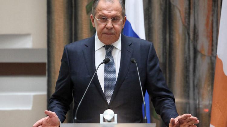 """Lavrov: """"La adhesión de Montenegro a la OTAN es un proyecto puramente geopolítico"""""""