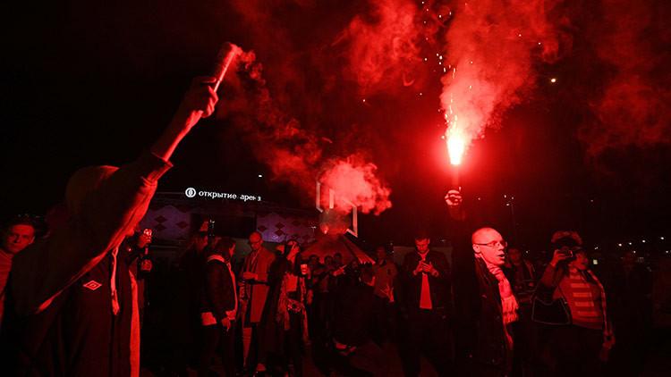 Rusia publica una lista negra de casi 200 'hooligans' para la Copa Confederaciones