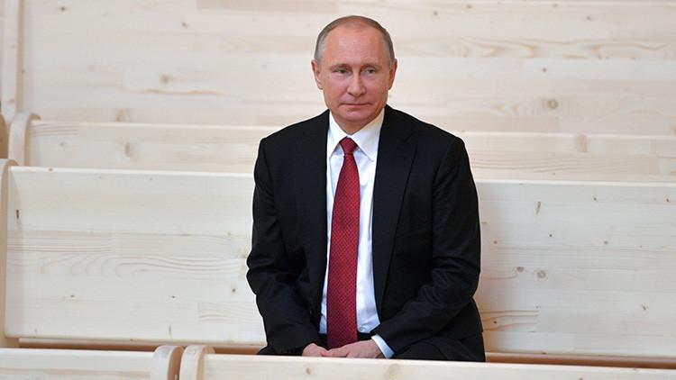 Putin revela qué haría si tuviera que ducharse con un homosexual