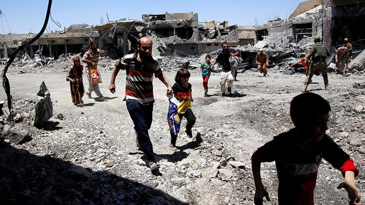 FUERTES IMÁGENES: Estado Islámico mata a 200 civiles que intentaron abandonar Mosul