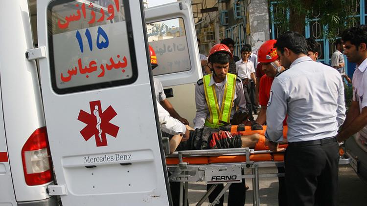 Un motociclista ataca a 16 personas con ácido en Teherán