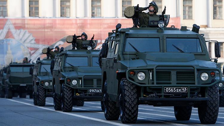 Infografía: Así es el 'Hummer' ruso, el todoterreno militar blindado Tigr-M