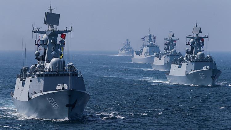 China desarrolla una monstruosa batería flotante de misiles