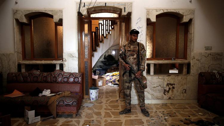 Dentro de una prisión del Estado Islámico en Mosul (FOTOS)
