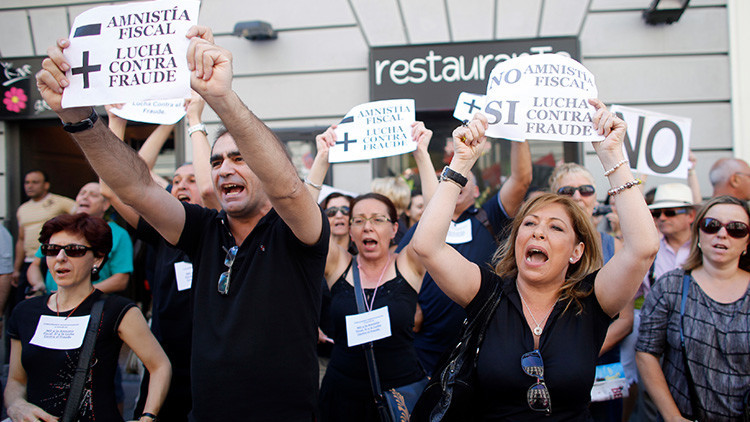 """El Tribunal Constitucional anula la amnistía fiscal de Rajoy: """"Supone la abdicación del Estado"""""""