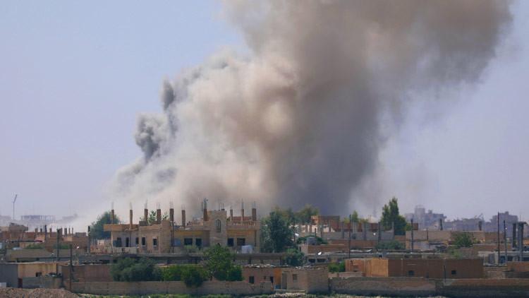 Al menos 14 civiles mueren en un ataque aéreo de la coalición en Raqa