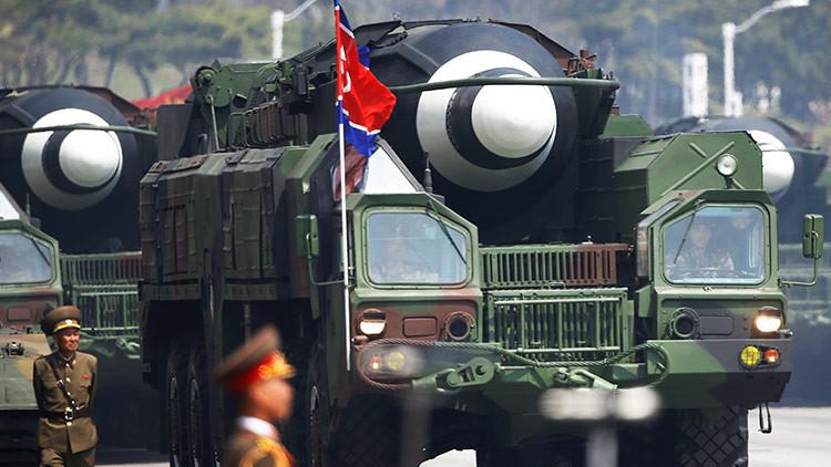 """""""Acertaron todos los blancos"""": Pionyang confirma el lanzamiento exitoso de un nuevo tipo de misil"""