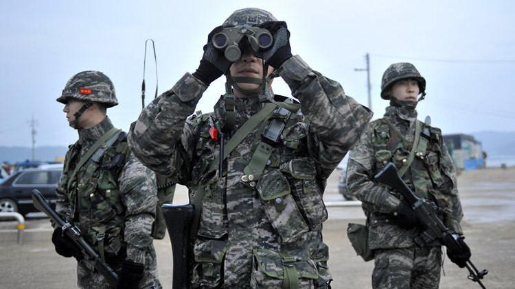 Los militares surcoreanos detectan un dron cerca de la frontera con Corea del Norte (FOTO)