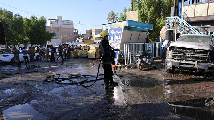 VIDEO: Al menos 30 muertos y 50 heridos en un doble atentado en Irak