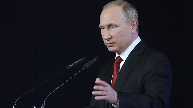 """Putin: """"El Estado Islámico busca desestabilizar el sur de Rusia"""""""