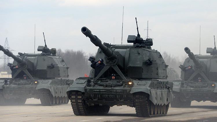 Rusia prepara nuevas municiones guiadas para su cañón-francotirador 'Koalitsiya' (video)
