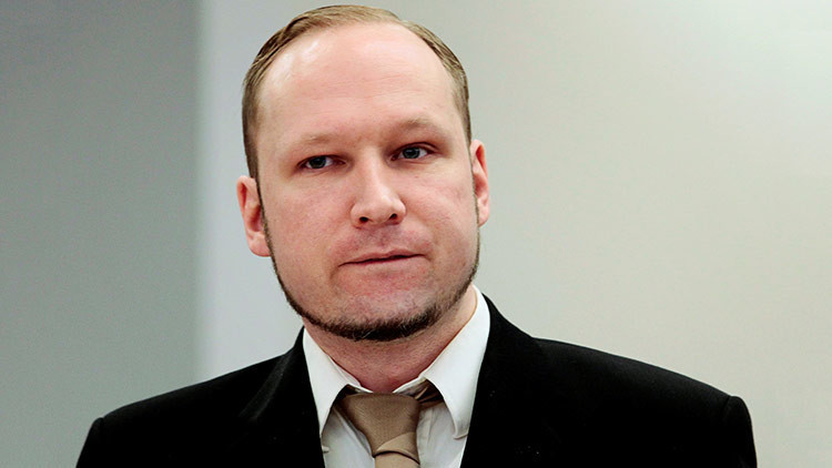 El terrorista noruego Anders Breivik ha cambiado su nombre y apellido