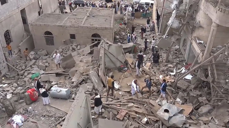 Tres niños y su abuela mueren en un bombardeo saudita en Yemen (VIDEO)