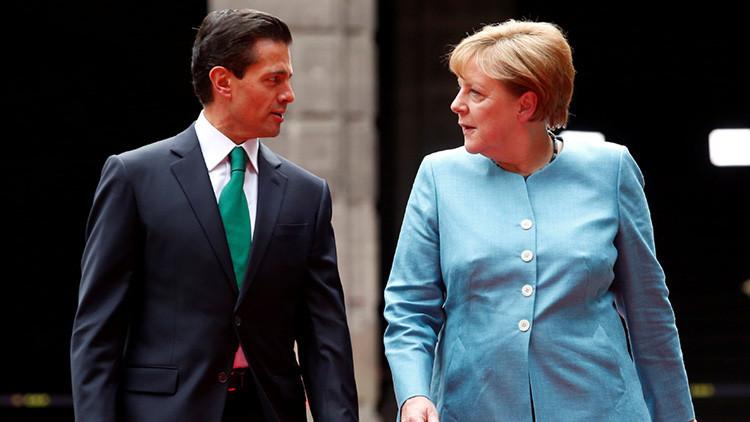 """Merkel dice a Peña Nieto que """"es importante castigar a los culpables de las desapariciones"""""""