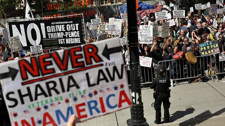 Marchas contra la sharia recorren varias ciudades de EE.UU. (FOTOS, VIDEOS)
