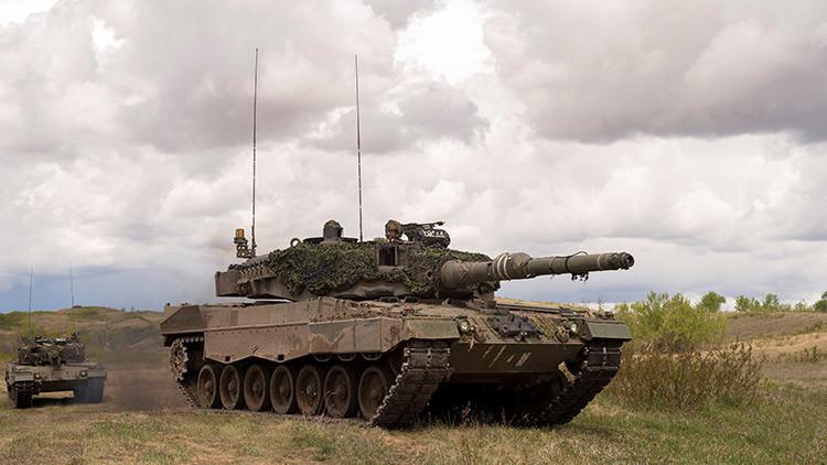¡Vienen los españoles!: Tanques del Ejército de España, desplegados en Letonia para disuadir a Rusia