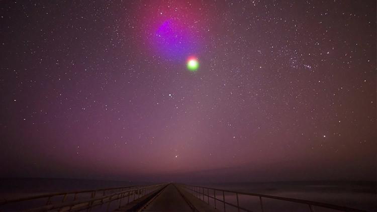 La NASA llenará con nubes de colores la costa este de EE.UU.
