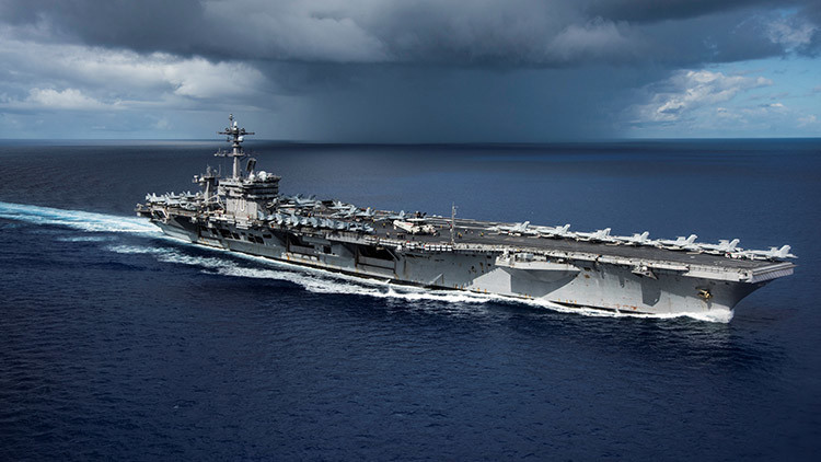 Analista militar explica cómo Rusia y China pueden destruir los portaaviones de EE.UU.