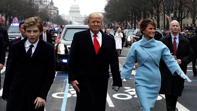 '¡Cumpleaños feliz!': Melania Trump y su hijo Barron se mudan oficialmente a la Casa Blanca