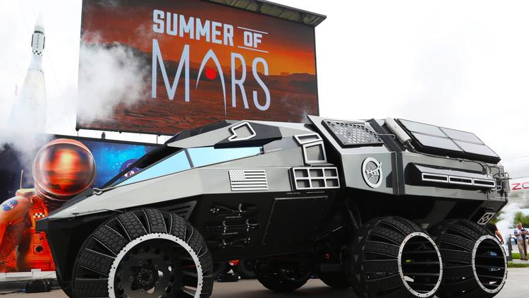 La NASA presenta un todoterreno para Marte que nunca tocará el planeta rojo (VIDEO)