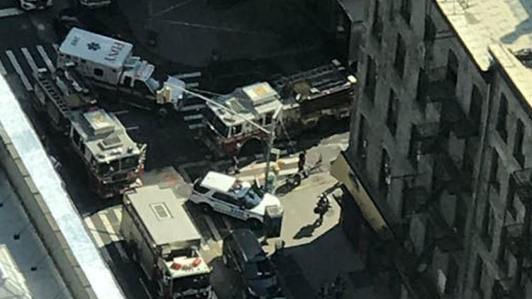 Bloquean una zona de Nueva York por un incidente con gas que dejó 35 heridos