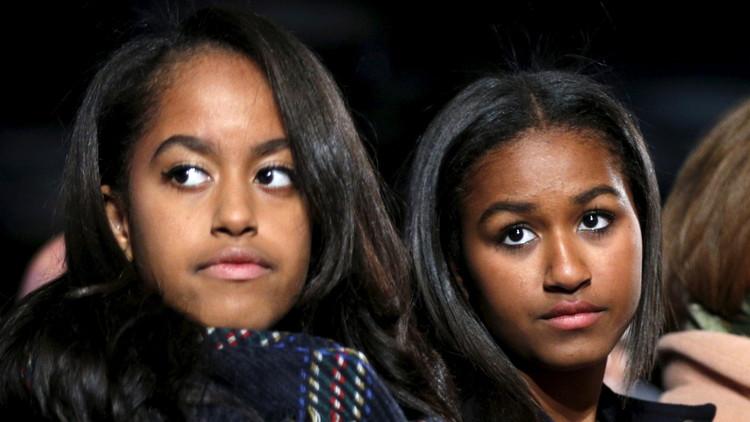 Los internautas se llevan una gran sorpresa al descubrir el nombre real de una de las hijas de Obama
