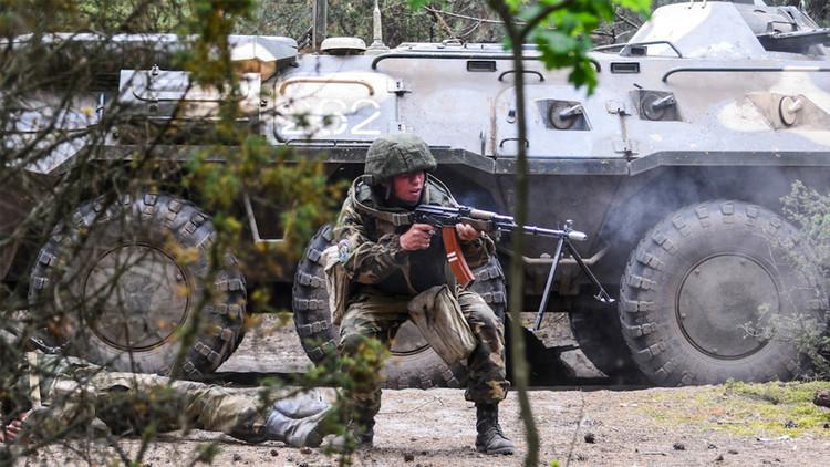 Rusia, Serbia y Bielorrusia 'aplastan' al terrorismo en ejercicios conjuntos (videos, fotos)