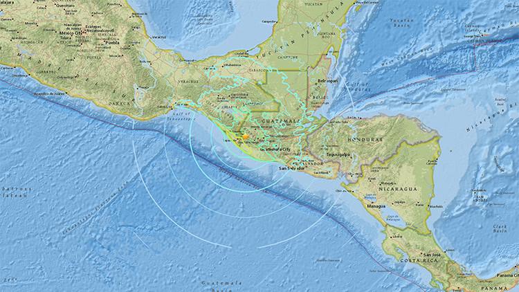 Un terremoto de magnitud 6,9 sacude las costas de México y Guatemala