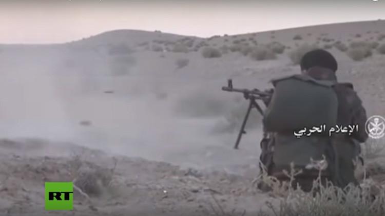 VIDEO:  El Estado Islámico pierde posiciones en el corazón de Siria