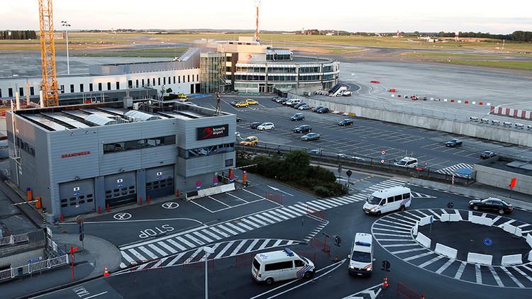 FOTOS: Cierran un aeropuerto de Bruselas por un fallo eléctrico